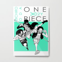 One Piece - Print Metal Print