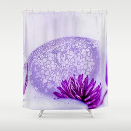 Micrograph Infusion Shower Curtain
