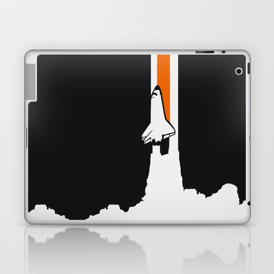 Launch me - The Final Flight of the Space Shuttle Laptop & iPad Skin