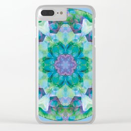 Mandalas of Healing and Awakening 10 Clear iPhone Case