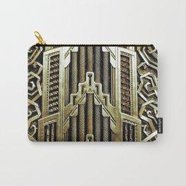 Metallic art nouveau design, vintage,elegant,chic,art nouveau, belle epoque,beautiful,gold,metallic, Carry-All Pouch