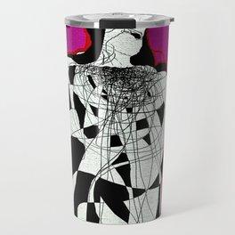 Abstract Figure Study Travel Mug