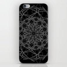 mandala in black iPhone & iPod Skin