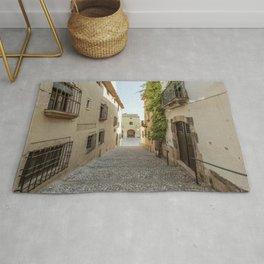 Spanish Street in Altafulla Rug