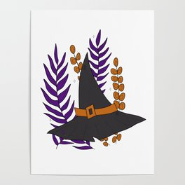 Witch's Hat Poster