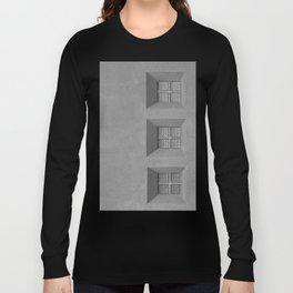 Three Little Windows Long Sleeve T-shirt