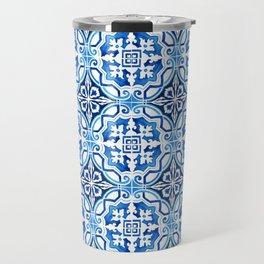 Portuguese Tile Travel Mug