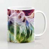 bears Mugs featuring Bears by Veronika