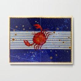 Cancer - Uranometria Collection Metal Print