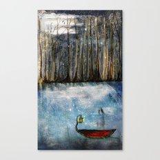 Left Afloat Canvas Print