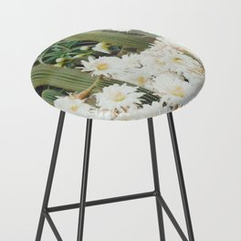 Cactus and Flowers Bar Stool