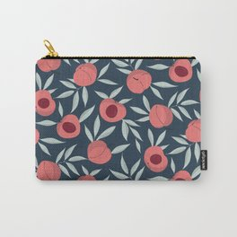 Apricot patch seamless pattern Carry-All Pouch