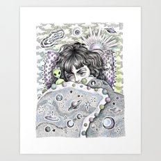 Napping In... The Twilight Zone Art Print