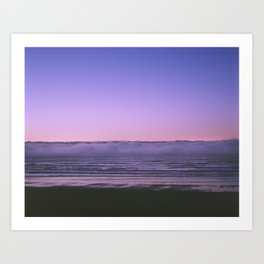 Clouds on Water Art Print