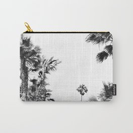 Black and White Palm Trees- Baby Palm Carry-All Pouch