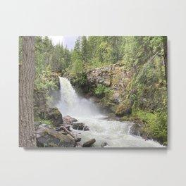 Sutherland Falls Revelstoke Metal Print