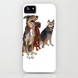 watercolor dog vol2 Pointer, Coonhound, Alaskan iPhone Case