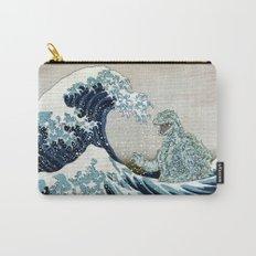 Godzilla Off Kanagawa Carry-All Pouch