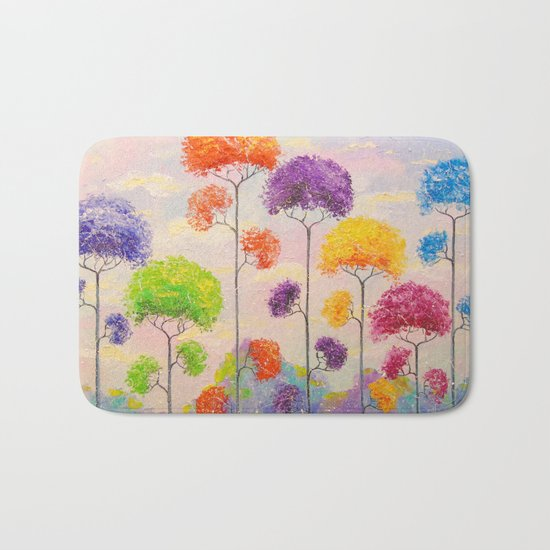 Melody of the trees Bath Mat
