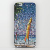 cuba iPhone & iPod Skins featuring Cuba by Juliana Kroscen