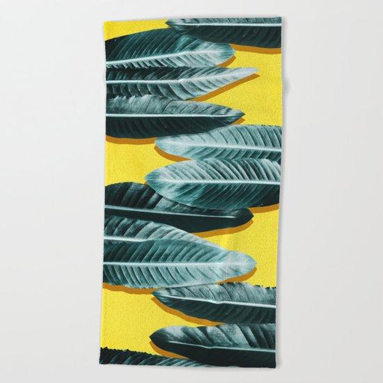 tropical #2 Beach Towel
