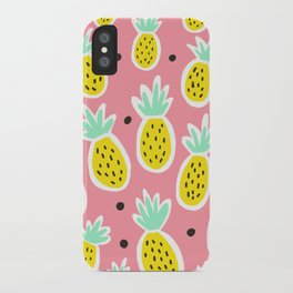 Pineapple Party iPhone Case