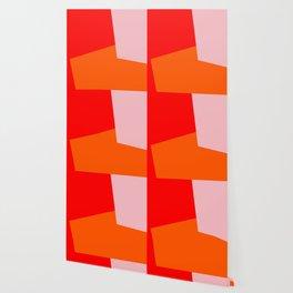 red orange pink Wallpaper