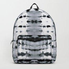 BW Satin Shibori Backpack