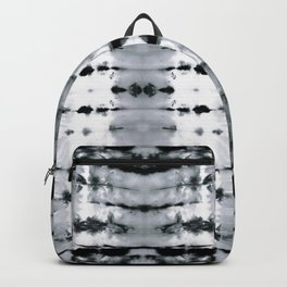 BW Satin Shibori Backpack