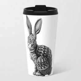Ornate Rabbit Travel Mug