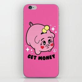 Get Money - Piggy Bank - Sailor Moon iPhone Skin