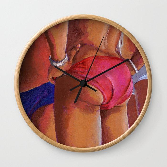 A Bunda Wall Clock
