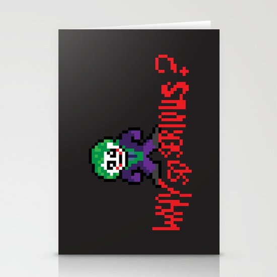 The Dark Pixel Stationery Cards