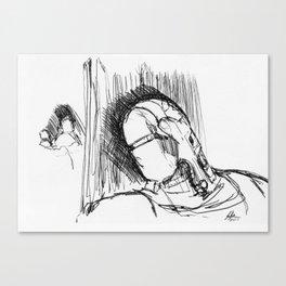 Warbot Sketch #032 Canvas Print