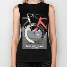 Tour De France Bicycle Biker Tank