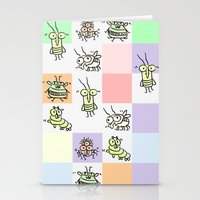 bugs Stationery Cards featuring Bugs by Scribblebro