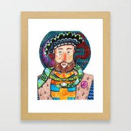 Henry the Snake Framed Art Print