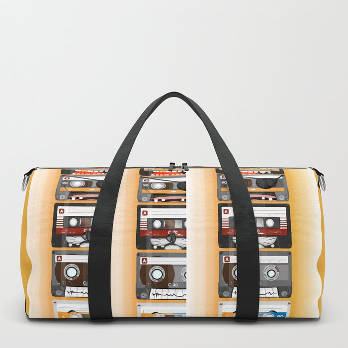The cassette tape Duffle Bag