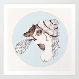 Cassandra two: sly. Art Print