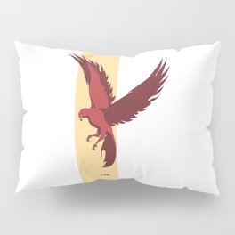 Red Falcon Pillow Sham