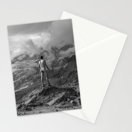 Awesome Nature Nude Hike Stationery Cards