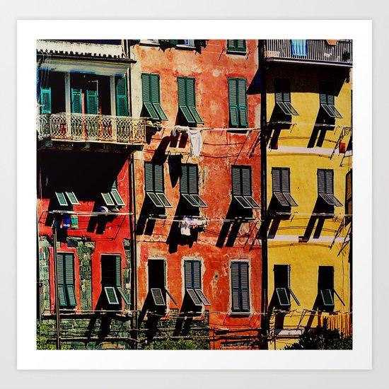 Colours Art Print