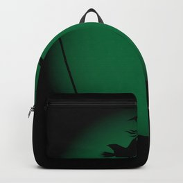 Halloween Witch Poster Background Backpack