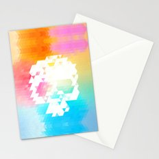 Skull Colors Stationery Cards