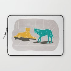 Two Dogs Laptop Sleeve