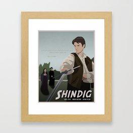 Shindig Framed Art Print