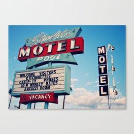 Starlight Motel 1 Canvas Print