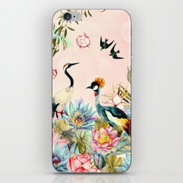 Landscapes of birds in paradise 2 iPhone Skin