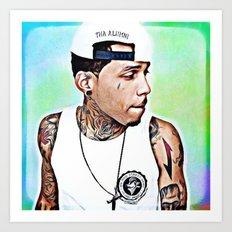 Kid Ink Art Print