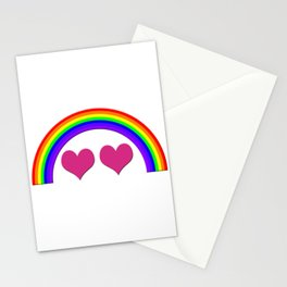 Rainbow Equal Love Stationery Cards